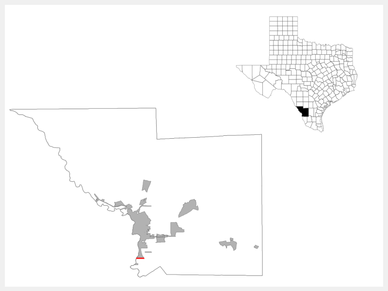 Rio Bravo locator map