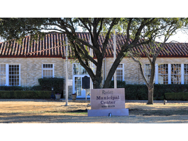 Rowlett Texas Municipal Building image