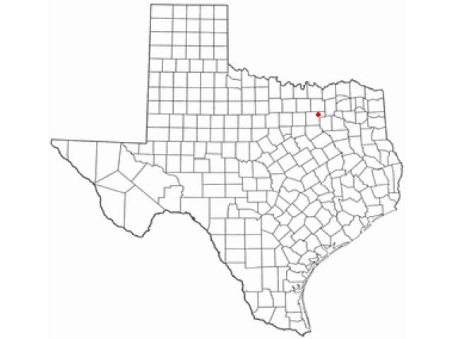 Rowlett, TX locator map