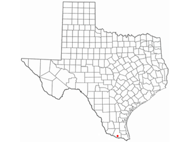 San Juan, TX locator map