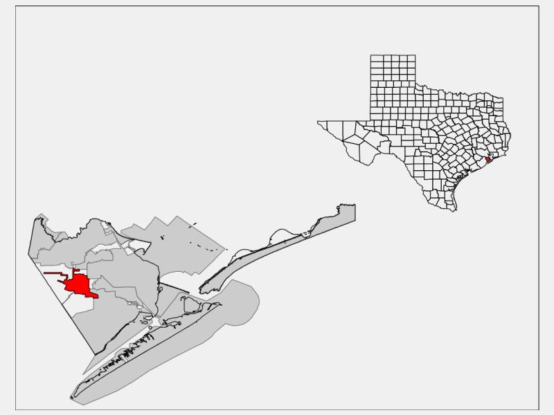 Santa Fe locator map