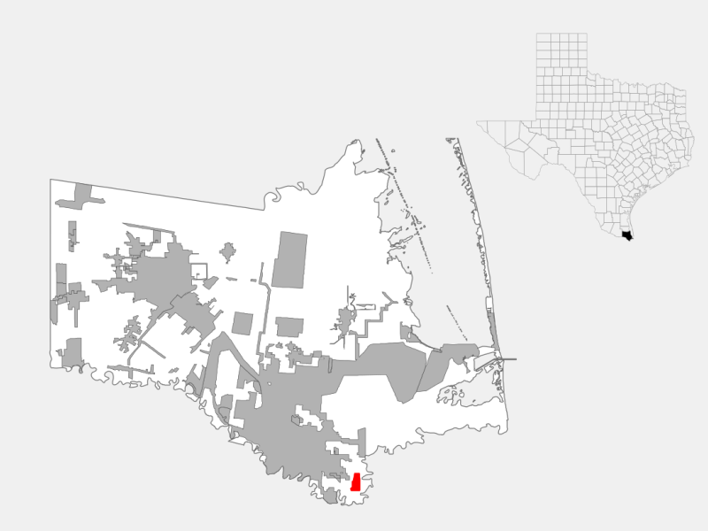 South Point location map