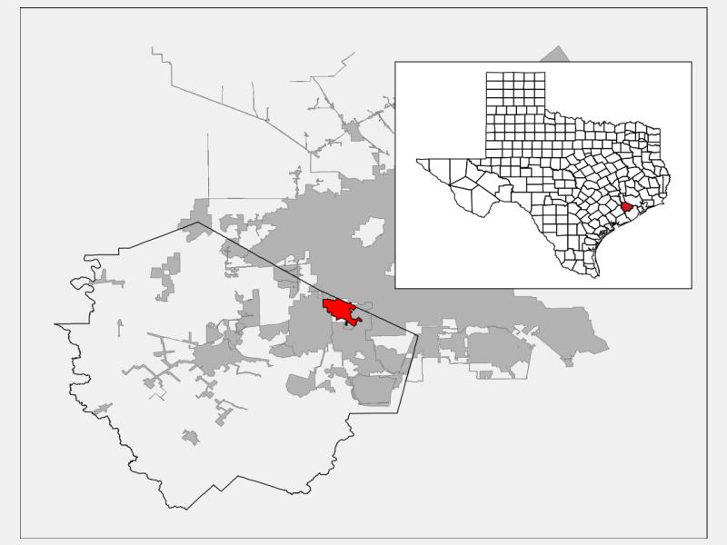Stafford locator map