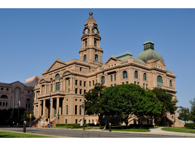 0011Tarrant County Courthouse Full E Fort Worth Texas image
