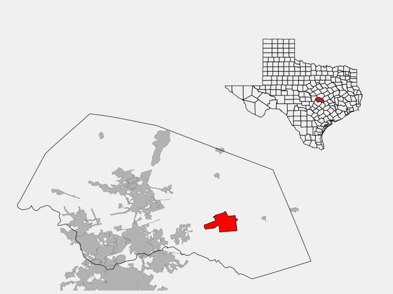 Taylor locator map
