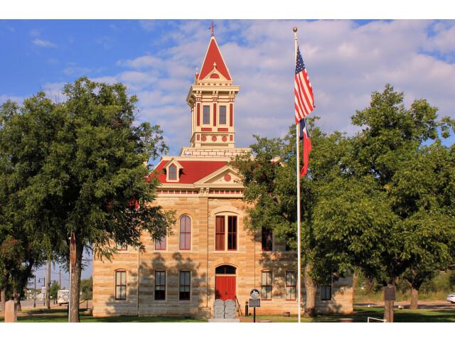 Throckmorton County Texas Courthouse 2015 image