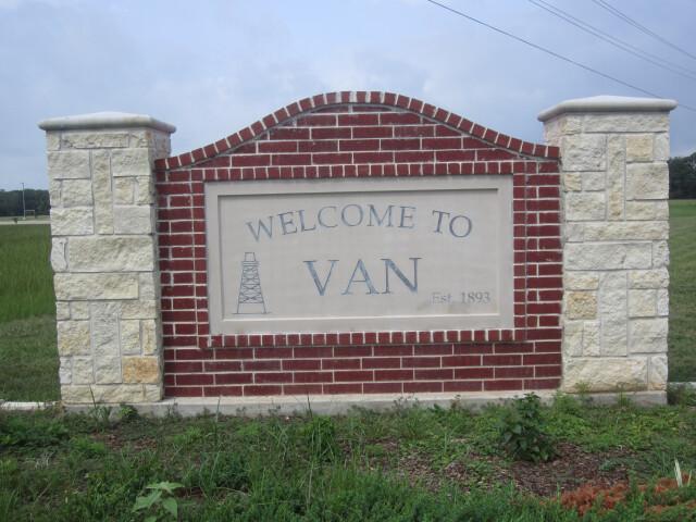 Van  TX  welcome sign IMG 6608 image