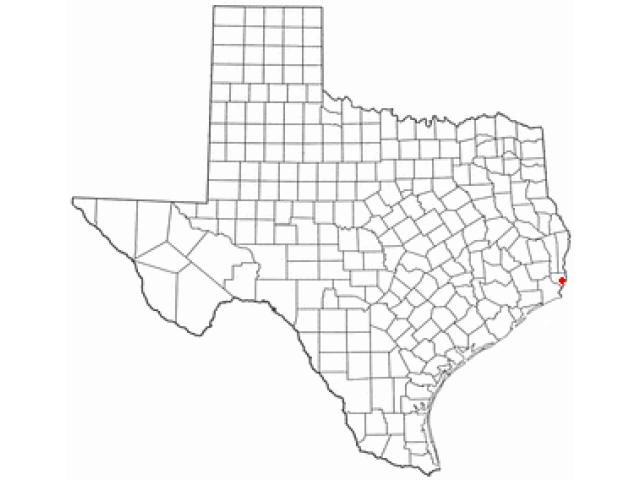 West Orange locator map