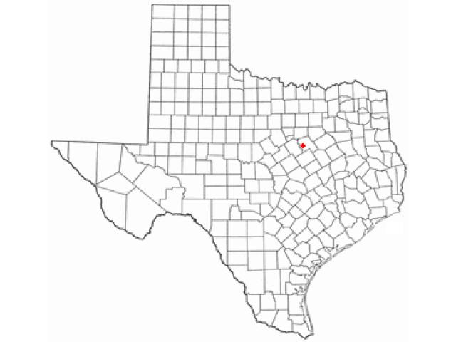 Whitney locator map