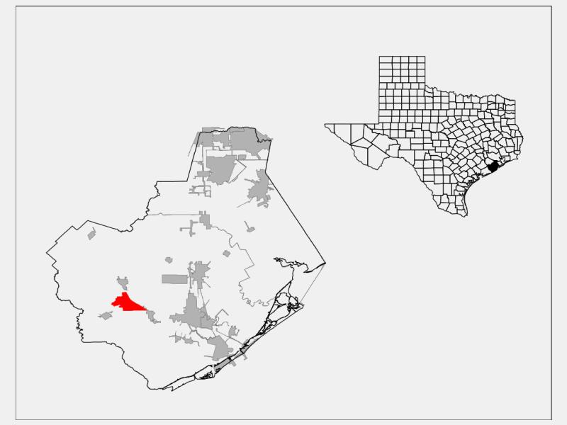 Wild Peach Village locator map