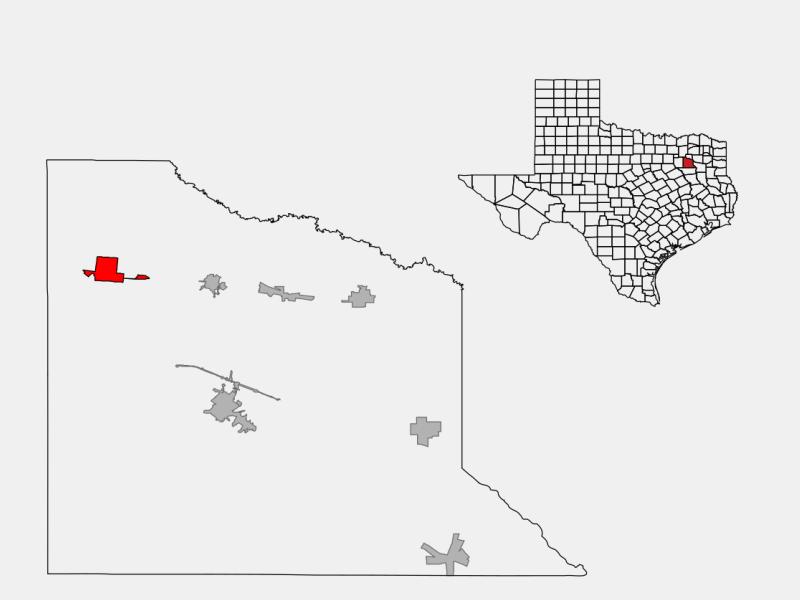 Wills Point locator map