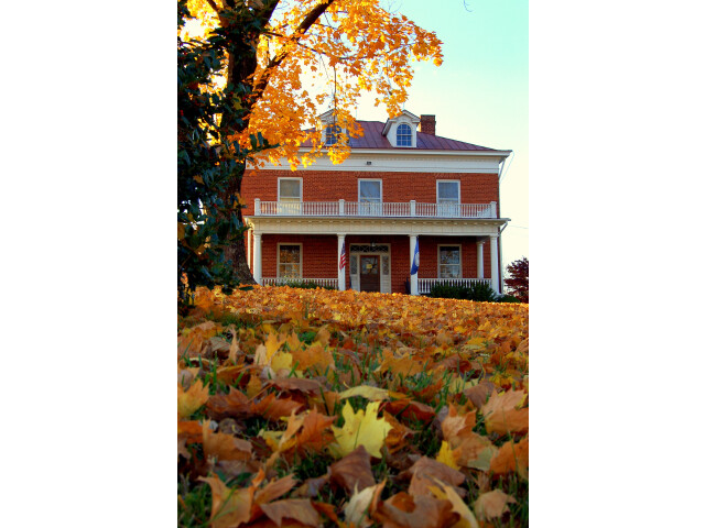 Amherst VA Historical Society in Fall image