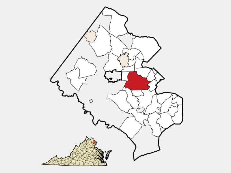 Annandale locator map