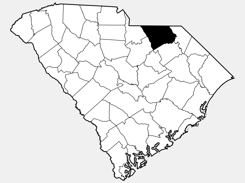 Chesterfield County locator map