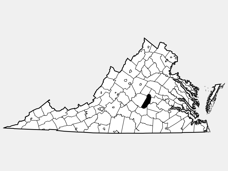 Cumberland County locator map