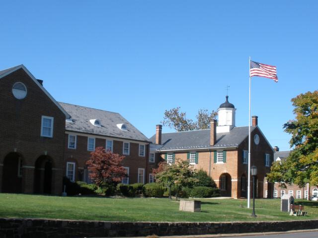 Old Fairfax County Courthouse  Fairfax City image