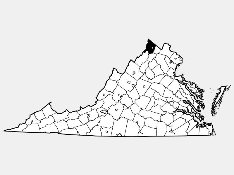 Frederick County locator map