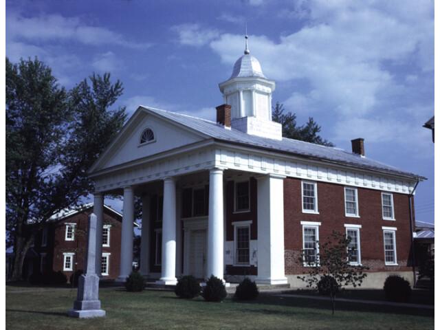 Greene County Courthouse 'Built 1838'  Stanardsville  'Greene County  Virginia' image