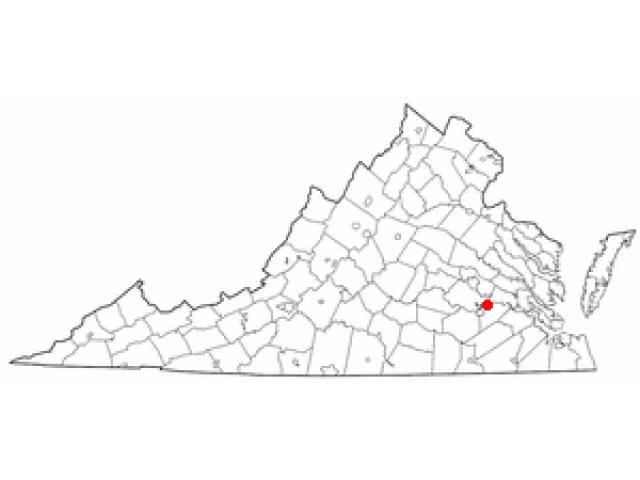 Hopewell location map