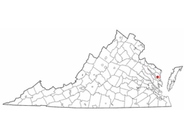 Irvington locator map