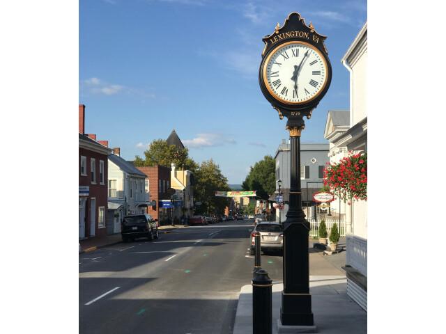 South Main Street  Lexington  VA - looking north image