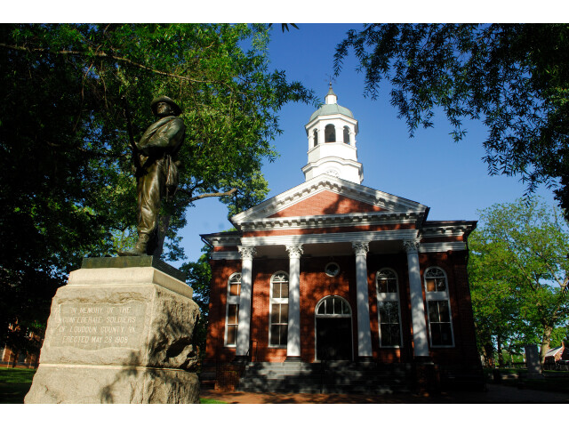 Loudoun County Courthouse in Leesburg Virginia image