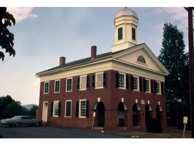 Madison County Courthouse 'Built 1829'  Madison  Virginia image