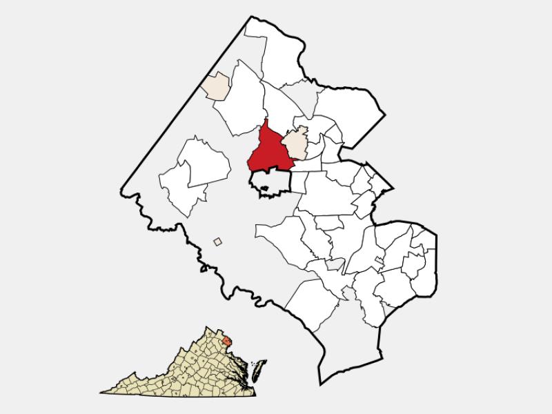 Oakton locator map