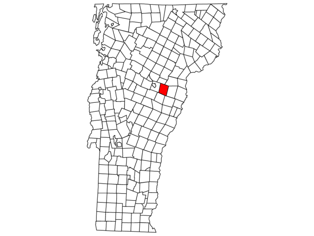 Orange locator map