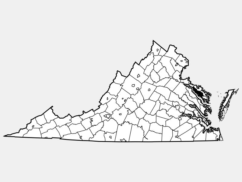 Richmond, VA locator map