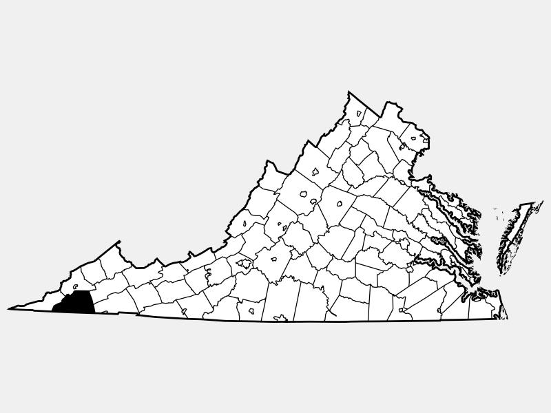 Scott County locator map