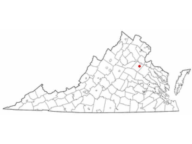 Spotsylvania Courthouse location map