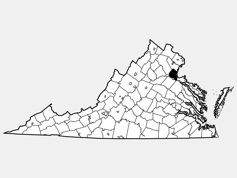 Stafford County location map