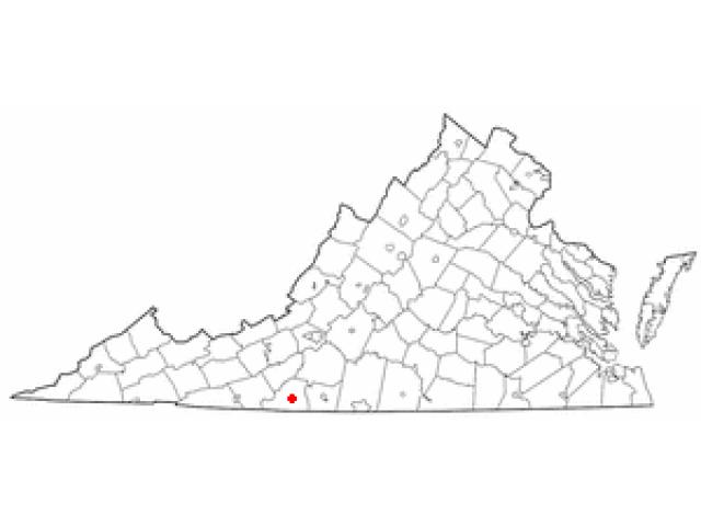 Stuart location map