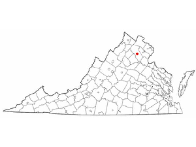 Warrenton location map
