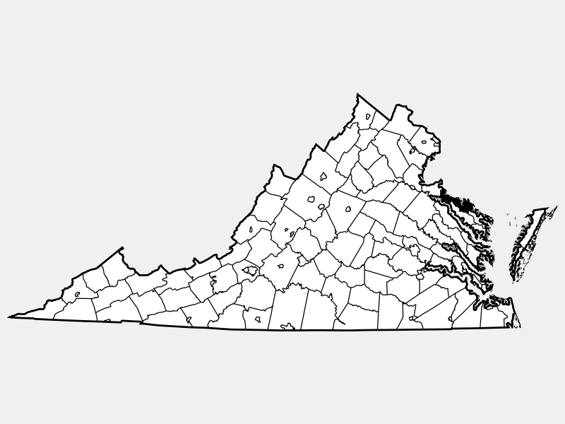 Westmoreland County locator map