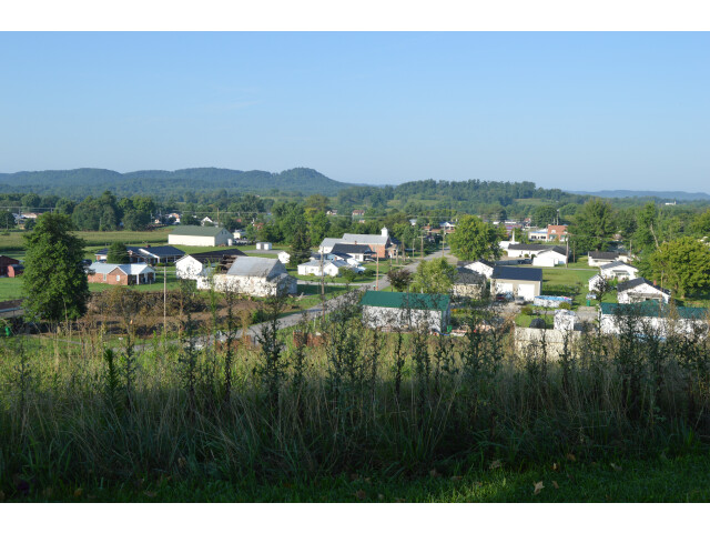 Crab Orchard from the cemetery image