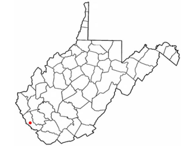Delbarton locator map
