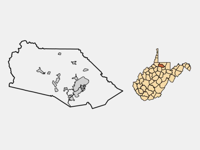 Fairmont locator map