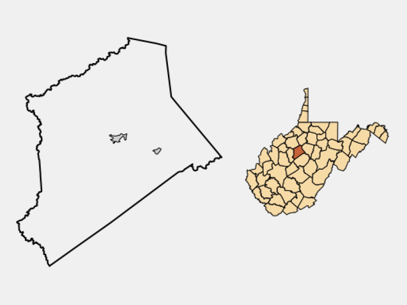 Glenville location map