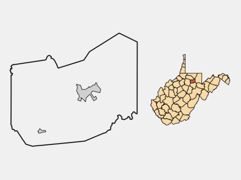 Grafton location map