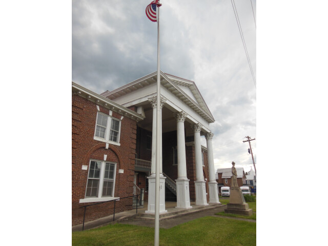 Grant County Courthouse  Petersburg  WV image