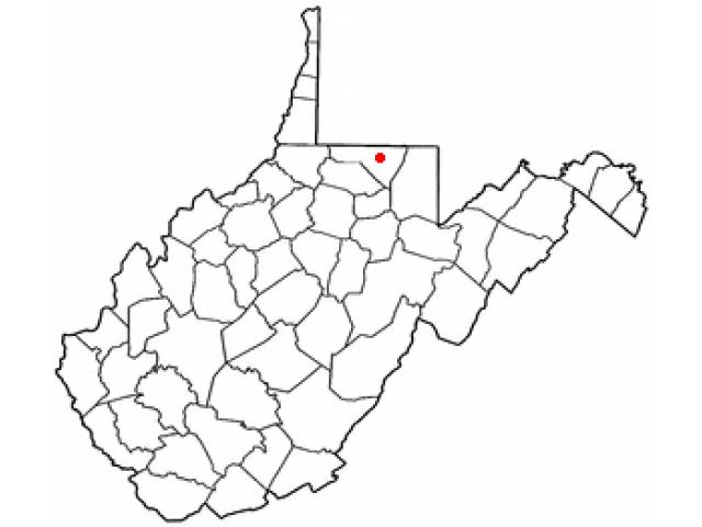 Granville locator map
