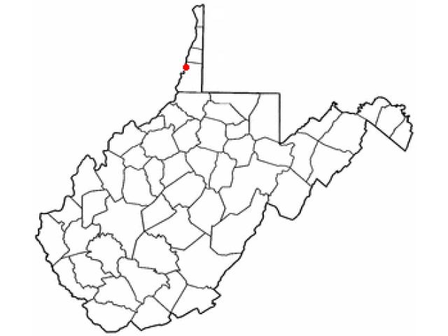 McMechen locator map