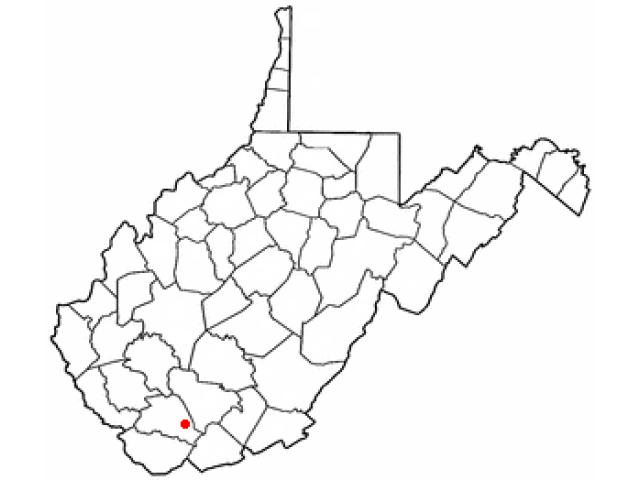 Mullens locator map