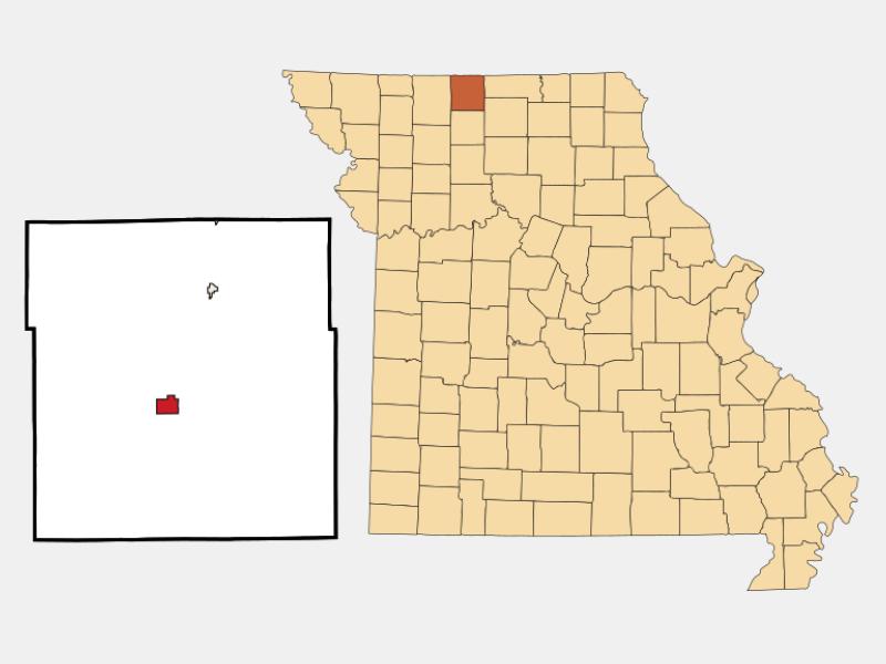 Princeton locator map