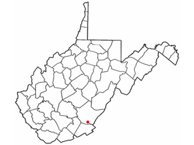 Ronceverte location map