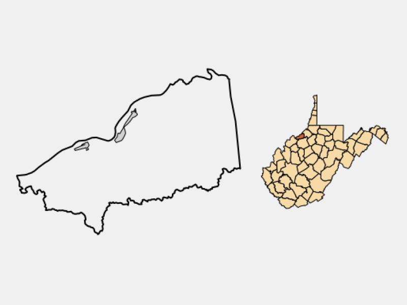 Saint Marys locator map