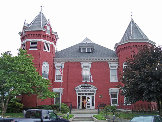 Summers County Courthouse West Virginia image