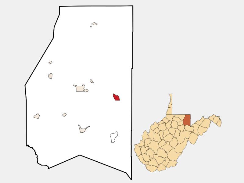 Terra Alta location map